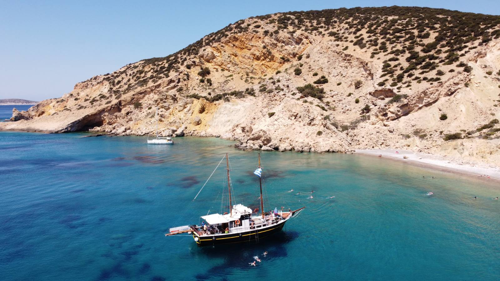 South West Cost of Naxos