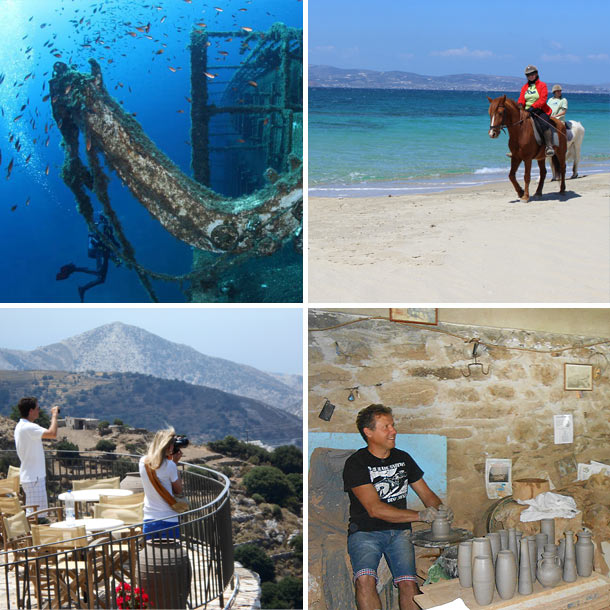 Private Naxos sightseeing 8 hours with lunch
